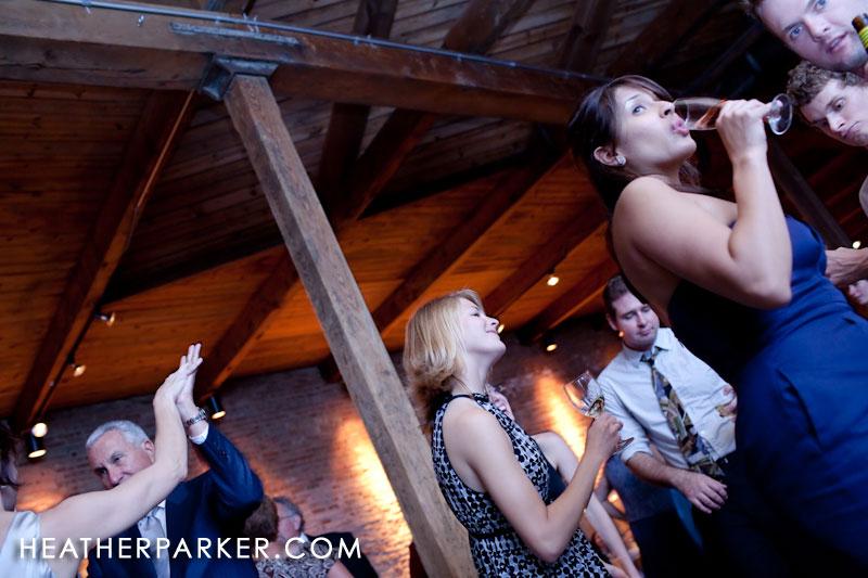 Raw loft wedding venue