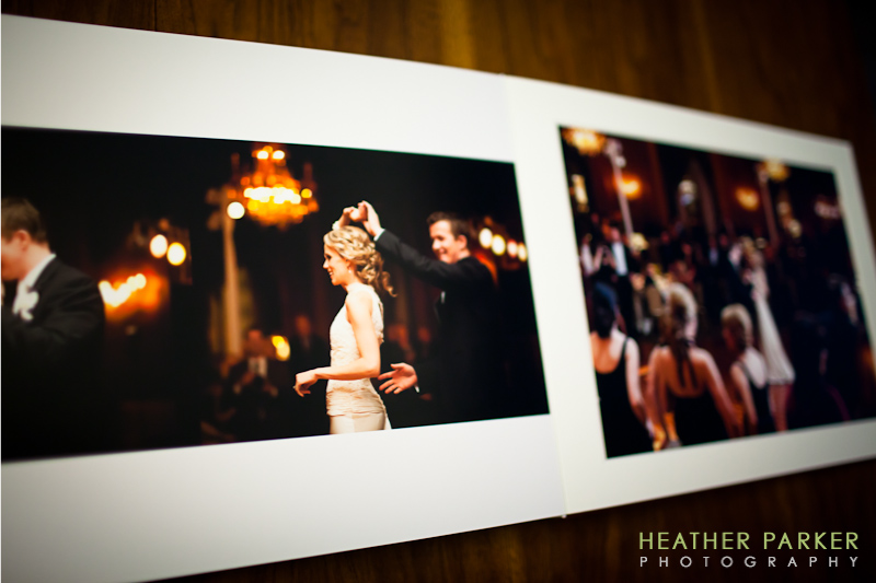 Chicago wedding photographer Queensberry Albums intercontinental hotel