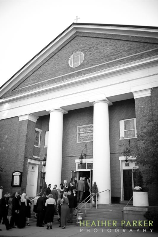 St. Josephs Catholic Church wedding Boston MA west end