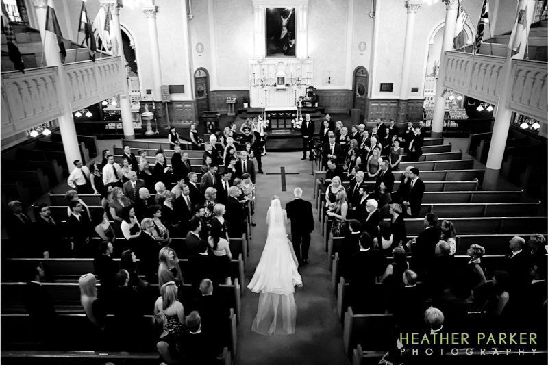 Saint Josephs Catholic Church wedding Boston MA west end
