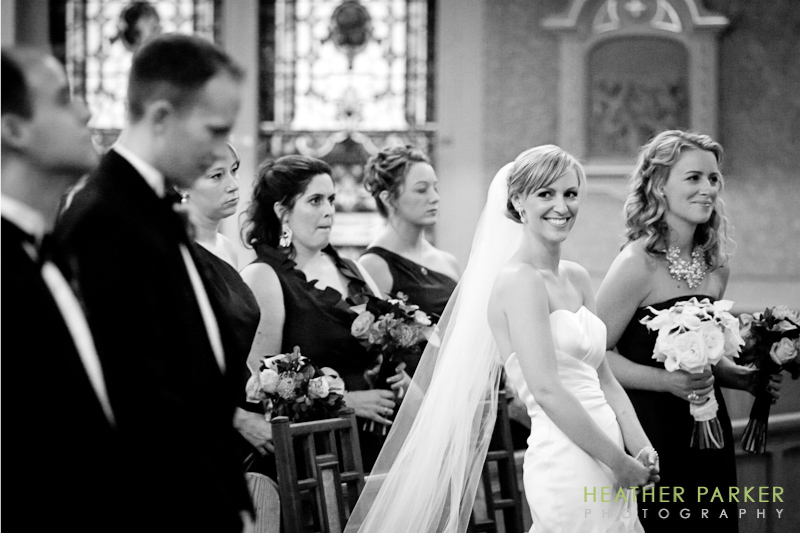 Saint Joseph's Catholic Church wedding Boston MA west end