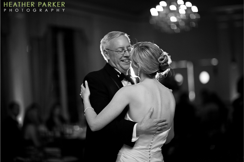 Omni Parker House Hotel Boston wedding photography by Heather Parker
