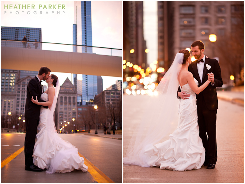 chicago wedding photographer heather parker modern wing