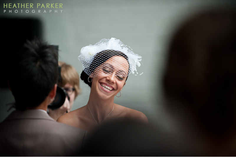 modern wedding ceremony at prairie productions chicago