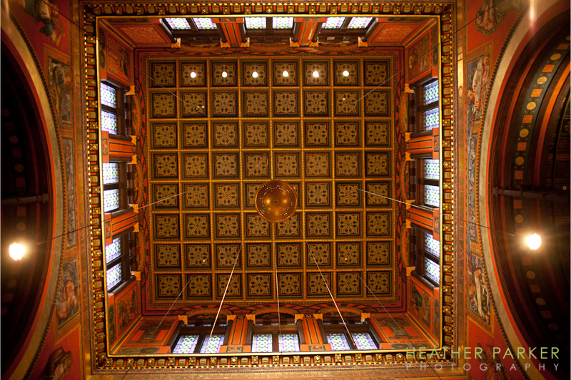 Trinity Church interior ceiling photo Boston MA