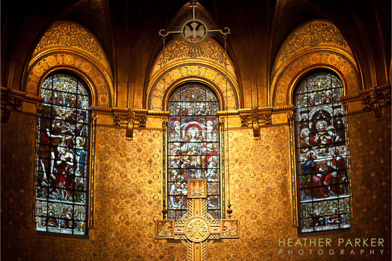 Trinity Church Boston interior photo by Heather Parker