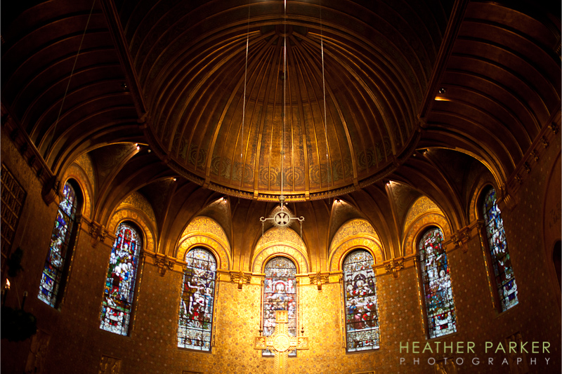 Trinity Church sanctuary in Boston interior photo by Heather Parker