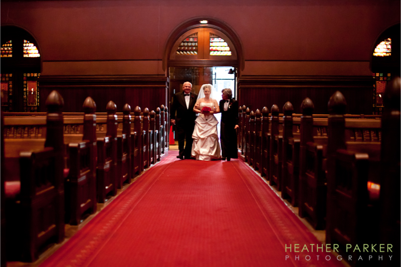 Trinity Church Boston wedding photographer Whitney Friedrich and Ian Wolf