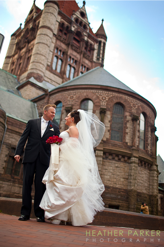 best photo of Trinity Church in Boston by Heather Parker Photography