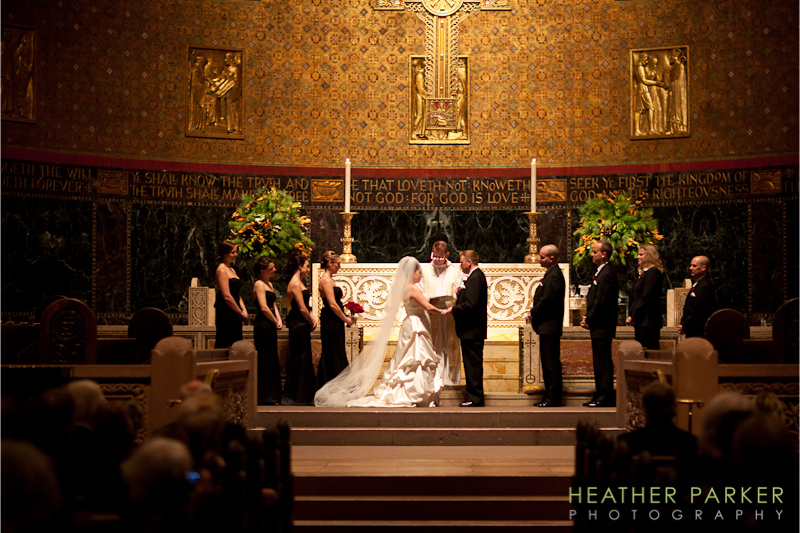 Trinity Church Boston wedding photographer