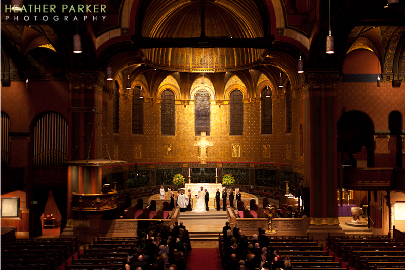 trinity church wedding photographer