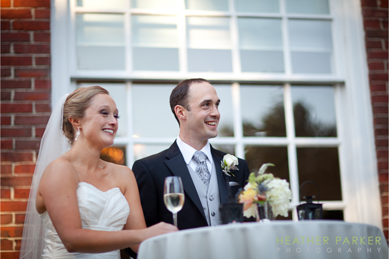 Boston outdoor wedding mansion venue by Heather Parker Photography