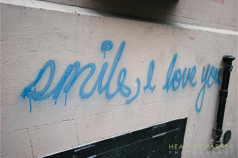 love graffiti nyc manhattan