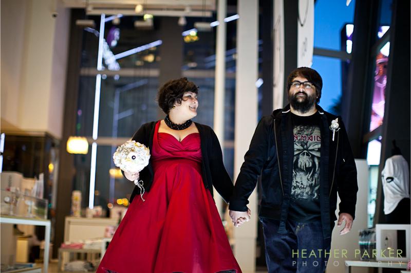 heavy metal wedding ceremony las vegas NV