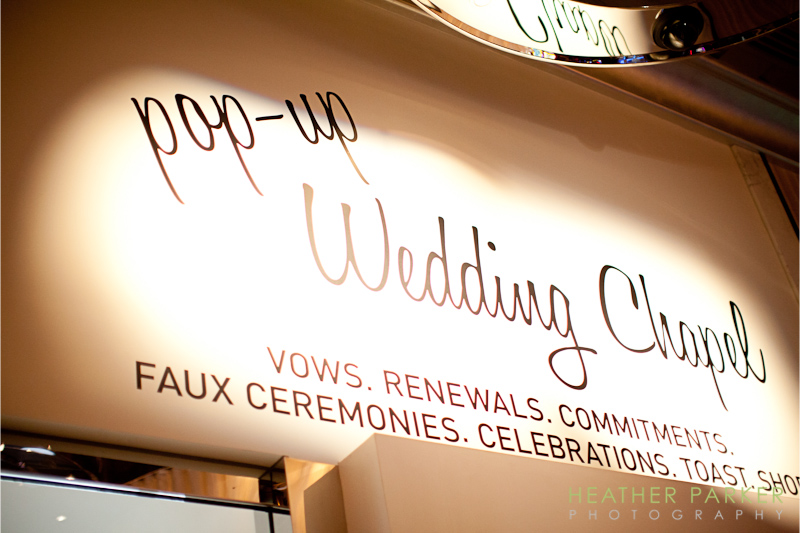 Wedding chapel at the Cosmopolitan Hotel Las Vegas