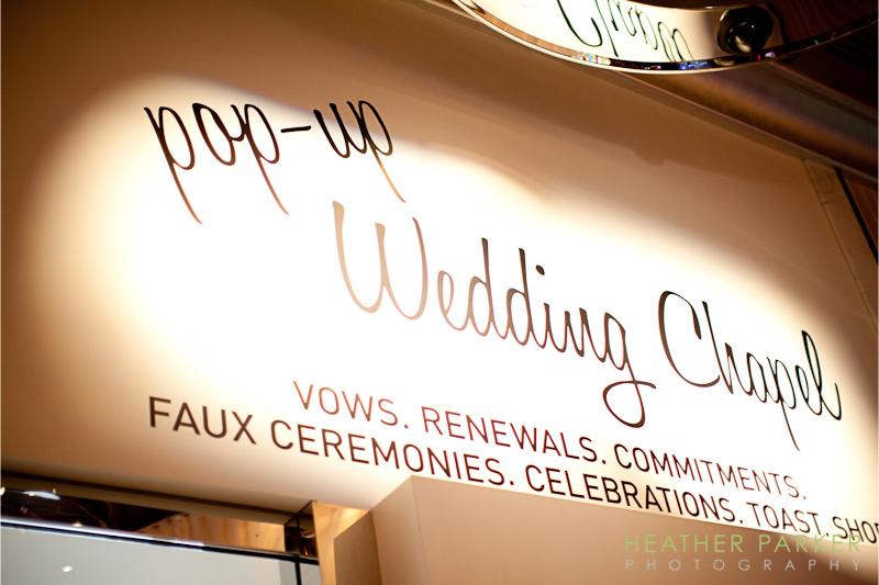 Wedding chapel at the Cosmopolitan Hotel Las Vegas