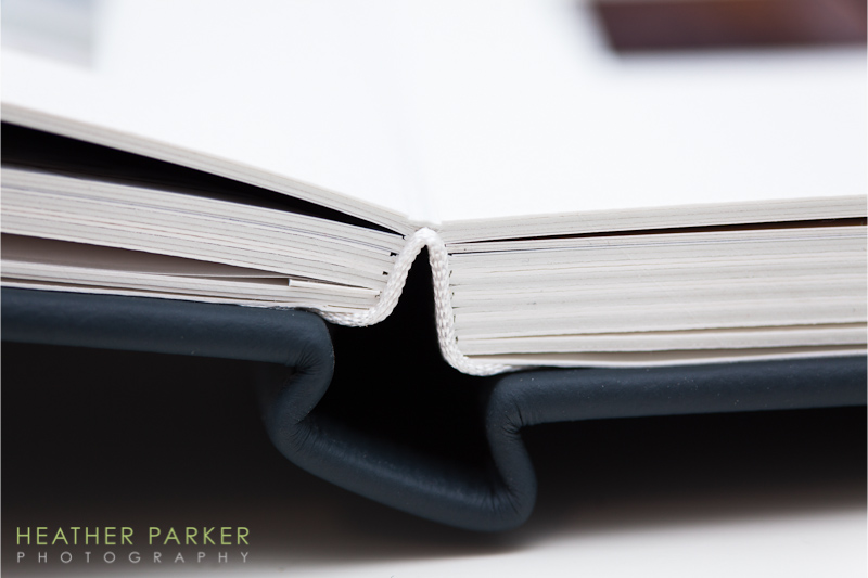 Queensberry wedding albums quality detail photo