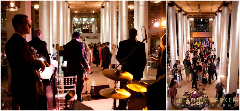 entourage wedding band from ken arlen music chicago at river east arts center reception
