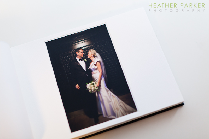 Queensberry Wedding Albums by Heather Parker Photography