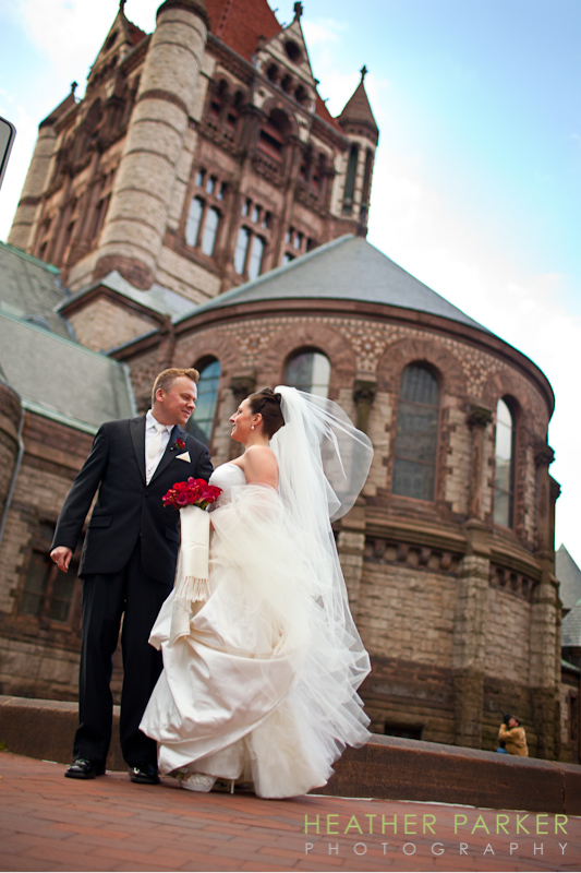 Trinity Church wedding Boston