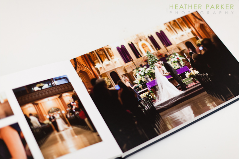 Queensberry Duo pages by Heather Parker Photography