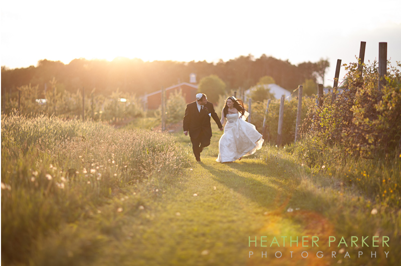 Boston barn wedding at Brooskby Farm Smith Barn Ashley and David