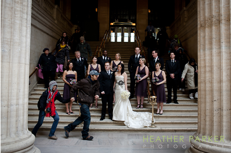 Chicago wedding photo invasion