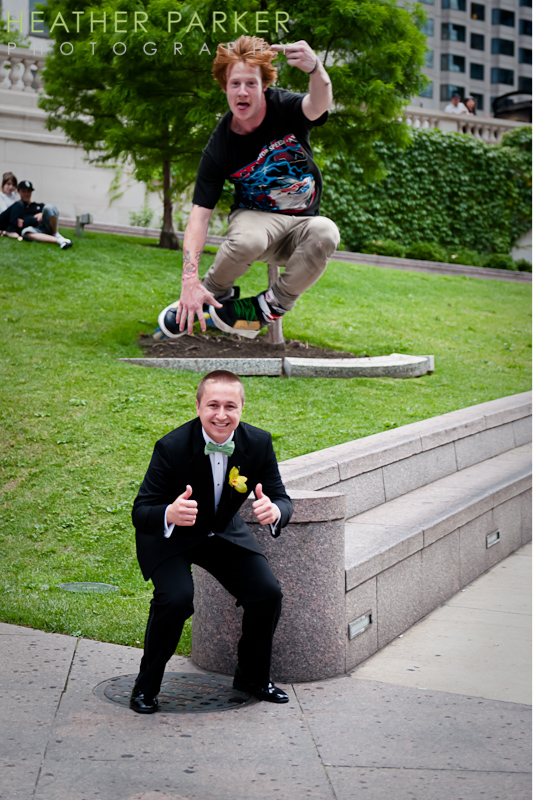 wedding skateboard
