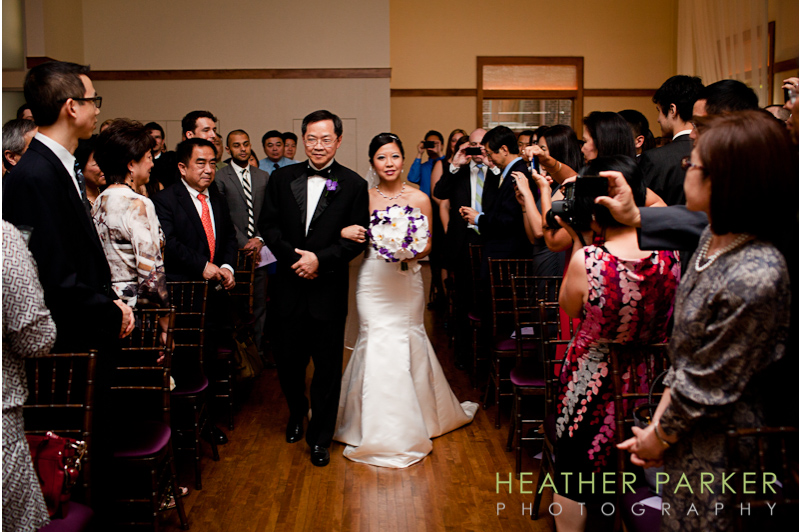 Ivy Room wedding ceremony