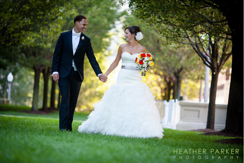 Modern Wing wedding at the Art Institute