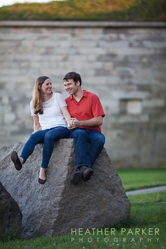 Boston wedding photographer engagement shoot