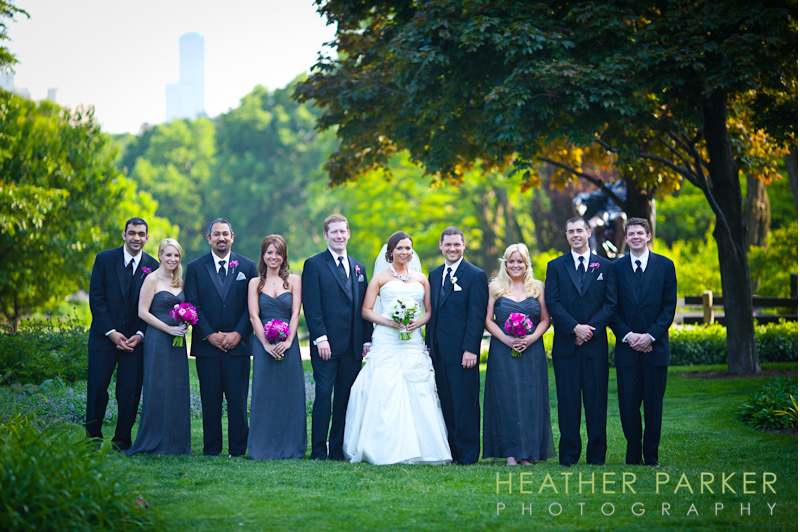 chicago bridesmaid dresses in purple amsale