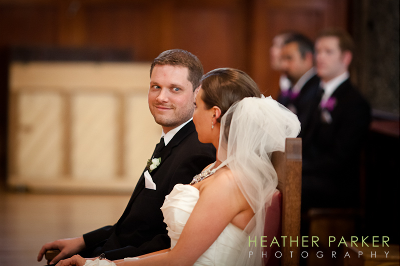 polish catholic wedding in chicago at saint hedwigs