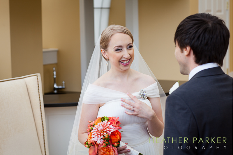 Boston wedding photography first look