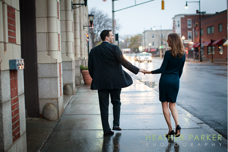 Boston wedding photographer - Inman Square Engagement