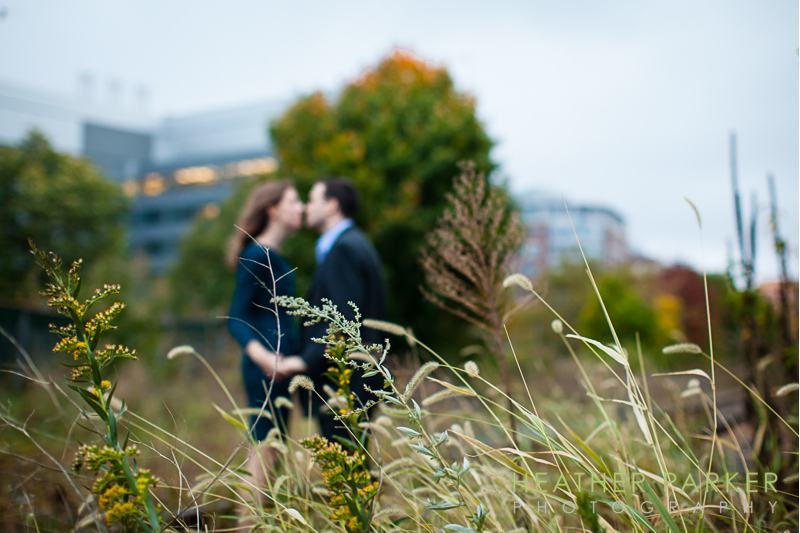 Boston wedding photographer - rustic engagement shoot