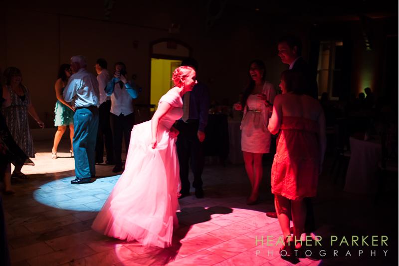 boston wedding reception lighting