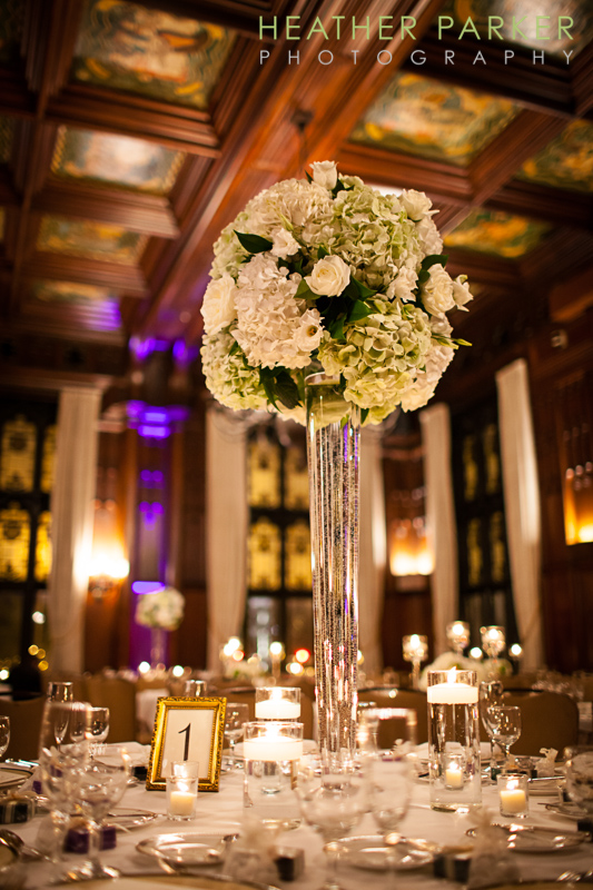 Wedding University Club of Chicago with Hello Darling florist