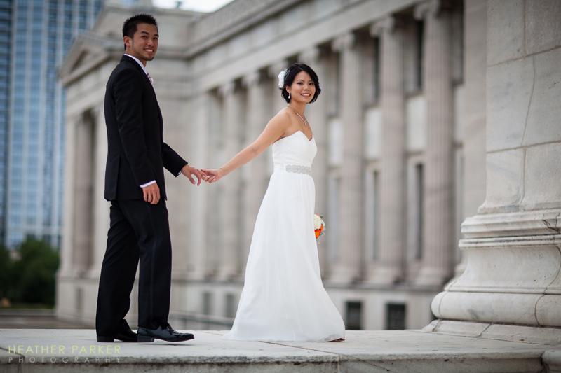 Field Museum wedding photos