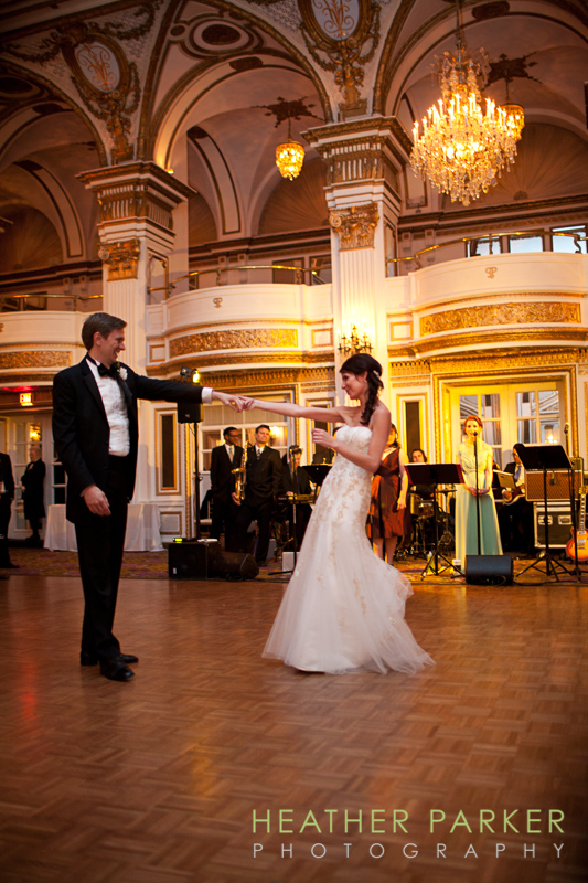 fairmont boston wedding grand ballroom