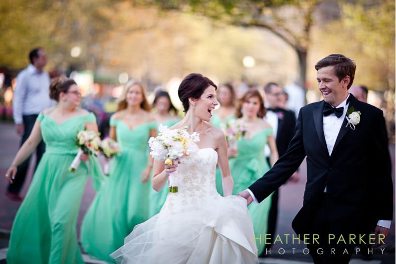 fairmont boston wedding candid