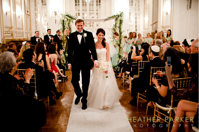 fairmont boston wedding ceremony grand ballroom