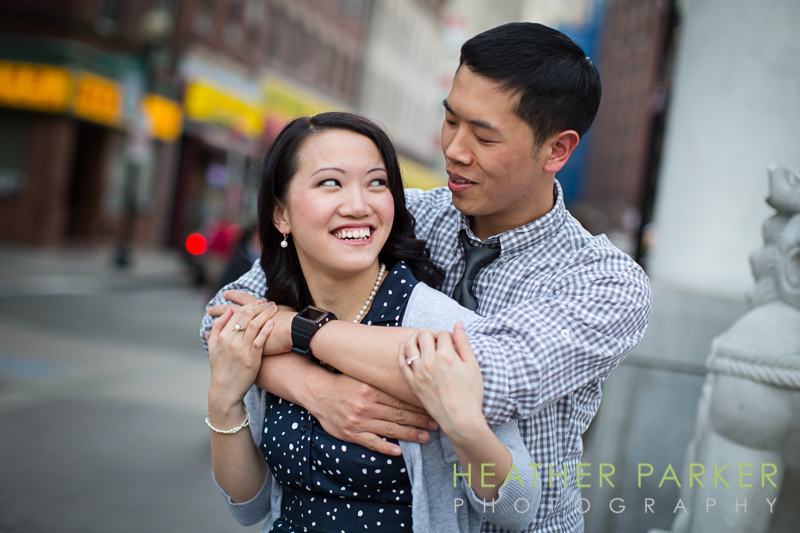 boston engagement chinatown