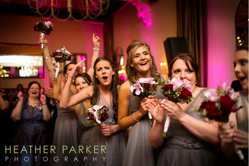 Boston Longwood Events wedding reception