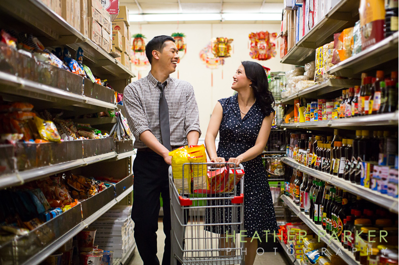 chinatown supermarket engagement