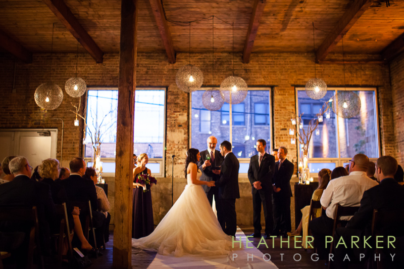 Chicago wedding ceremony Gallery 1028