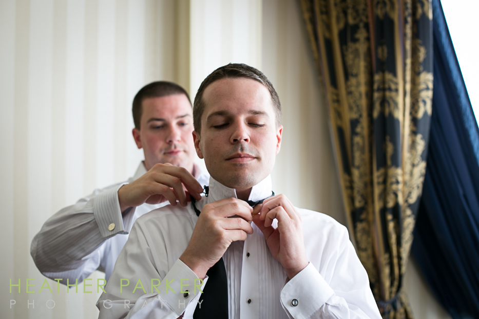 Boston wedding at Langham Hotel