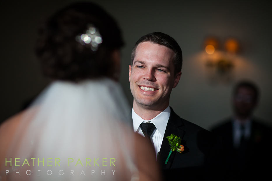 BC Club wedding ceremony photos
