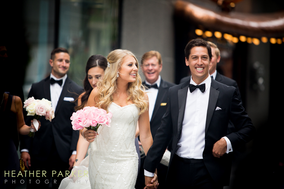 Fourth Presbyterian Church Chicago Wedding with Reception at Ritz Carlton