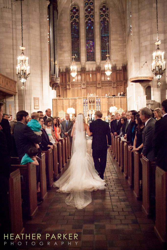Fourth Presbyterian Church wedding ceremony in Chicago